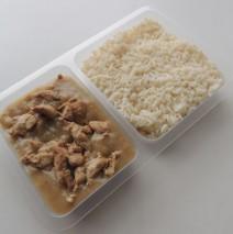 Sváteční kuřecí maso, rýže